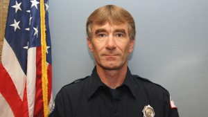 Firefighter John Shipley
