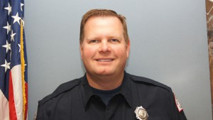 Firefighter Ron Cline